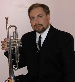 David Rood, Professional Trumpet (headshot)
